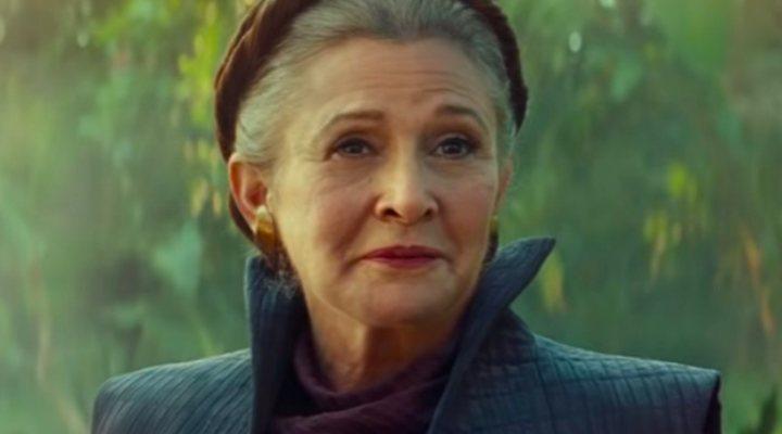Carrie Fisher en 'Star Wars: El ascenso de Skywalker'