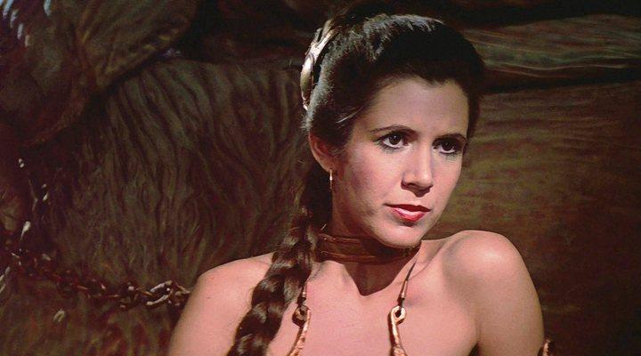 Carrie Fisher en 'Star Wars: El retorno del Jedi'