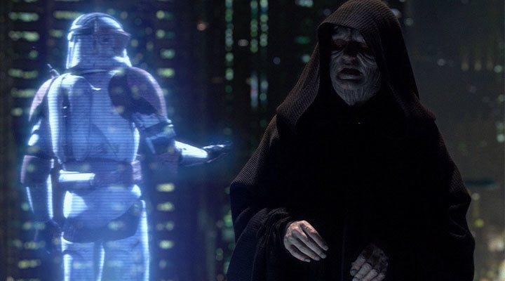 Ian McDiarmid en un fotograma de 'Star Wars: La venganza de los Sith'