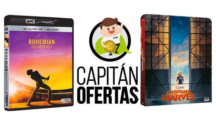 Las mejores ofertas en DVD y Blu-ray de la semana, de 'Capitana Marvel' a 'Mr. Robot'