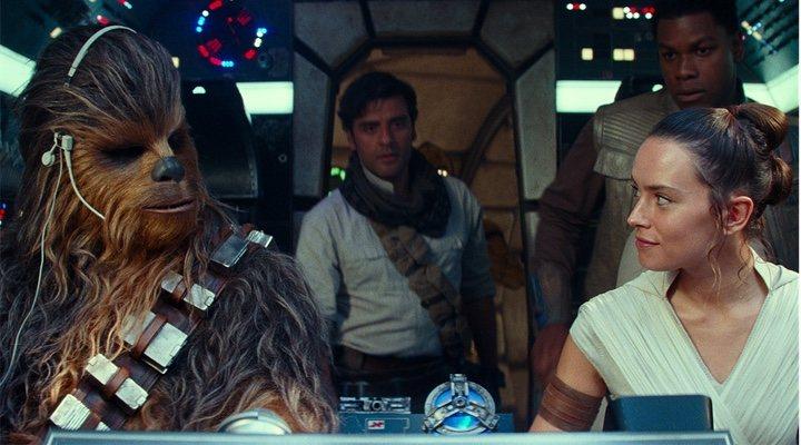 'Chewbacca y Rey'