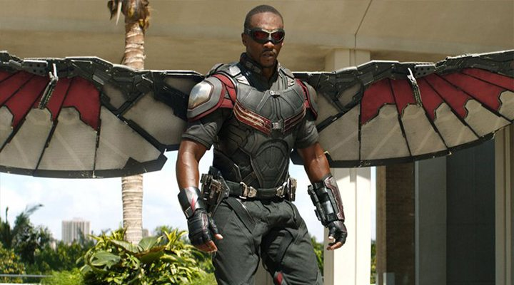 'The Falcon and The Winter Soldier' terremotos