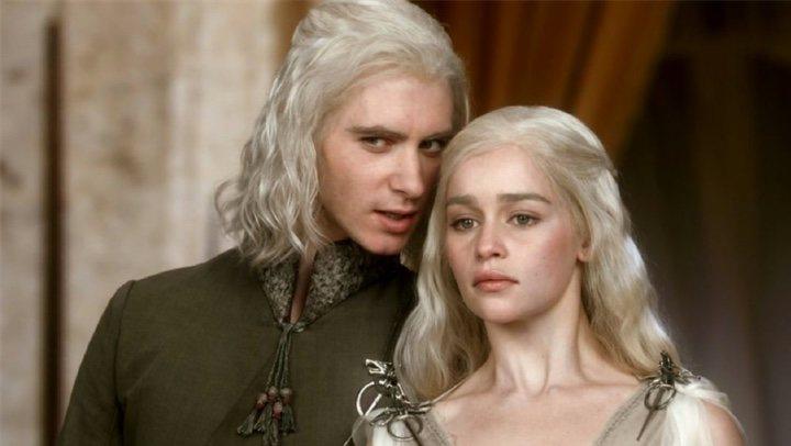 Daenerys y Viserys Targaryen