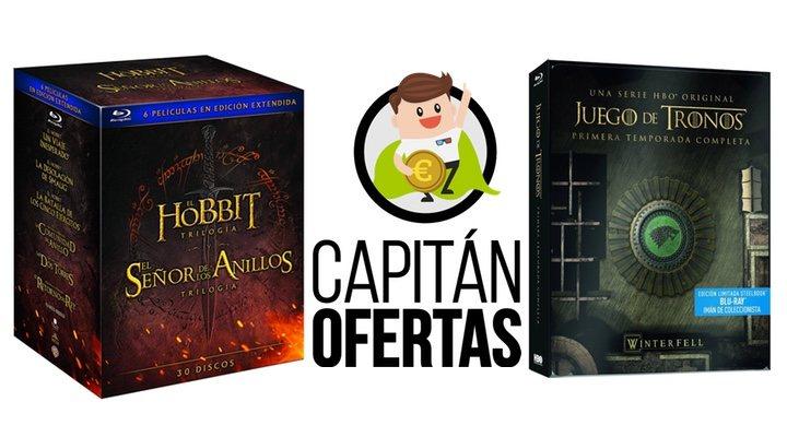 Las mejores ofertas en DVD y Blu-ray de la semana, de 'Juego de Tronos' a 'El Señor de los Anillos'