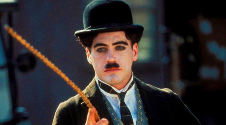 RDJ como Chaplin