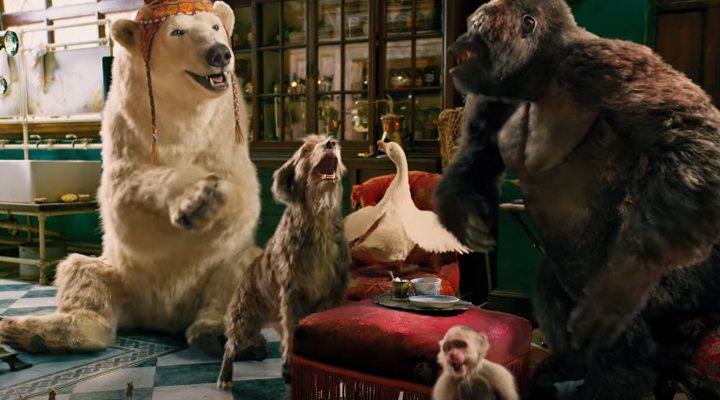 Los animales de 'Las aventuras del Doctor Dolittle'