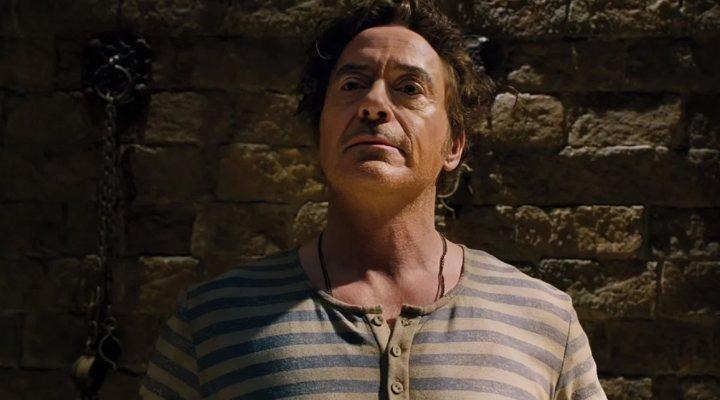 Robert Downey Jr. en una escena de 'Las aventuras del Doctor Dolittle'