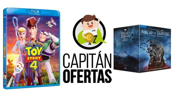 Las mejores ofertas en DVD y Blu-ray de la semana, de 'Toy Story 4' a 'Juego de Tronos'