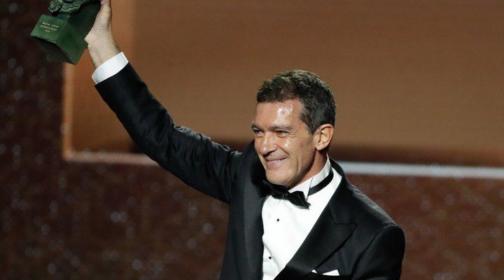 Antonio Banderas tras ganar el Goya a Mejor actor por 'Dolor y gloria'