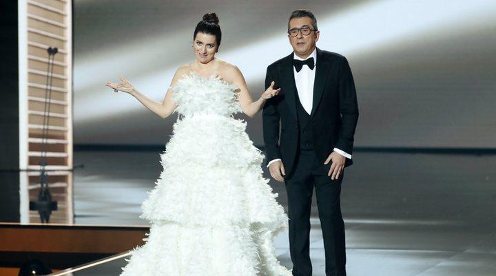 Silvia Abril y Andreu Buenafuente en la Gala de los Goya 2020