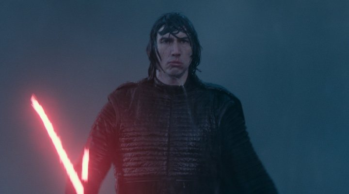 Adam Driver como Kylo Ren en 'Star Wars: El ascenso de Skywalker'