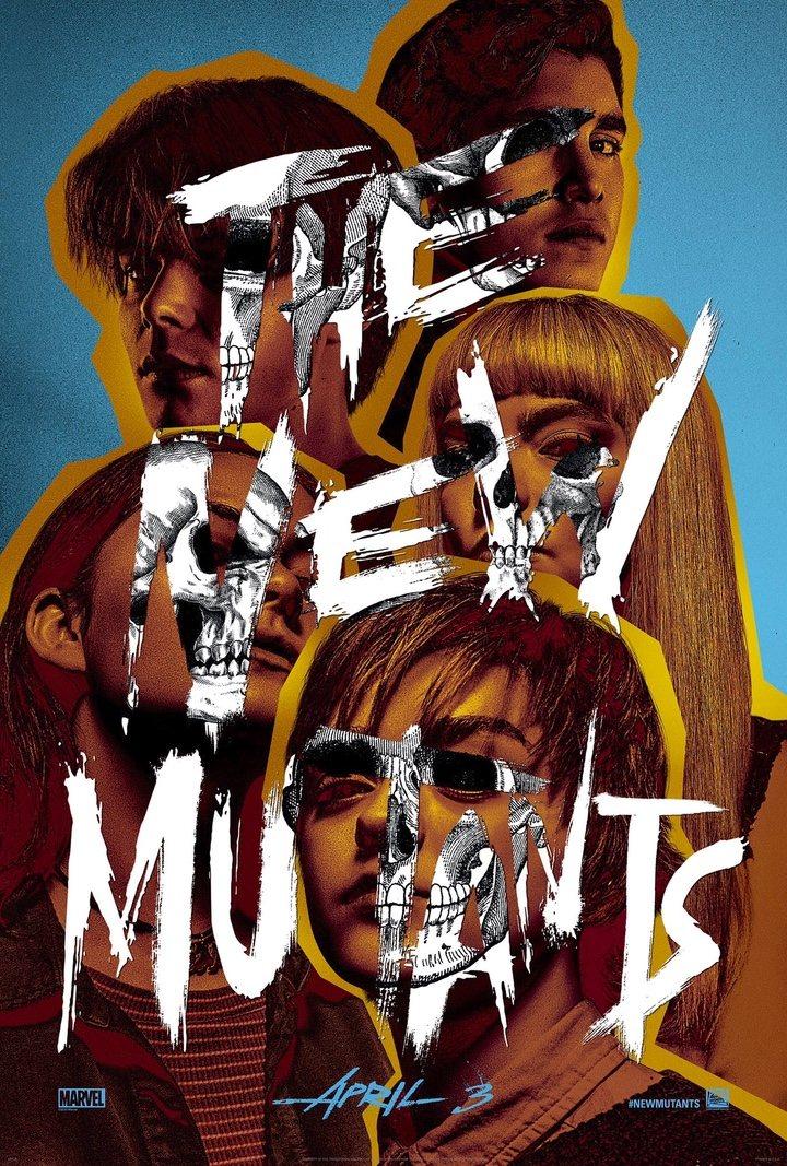 Poster 'Los Nuevos Mutantes'