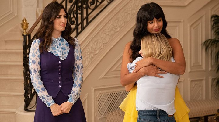 'Eleanor, Tahani and Janet in 'The Good Place