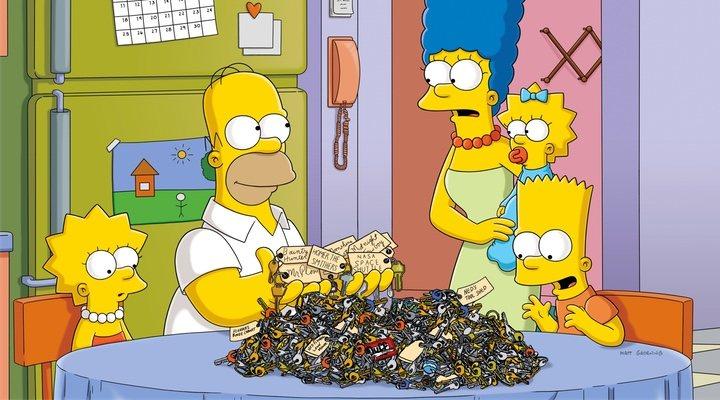 Homer en 'Los Simpson'