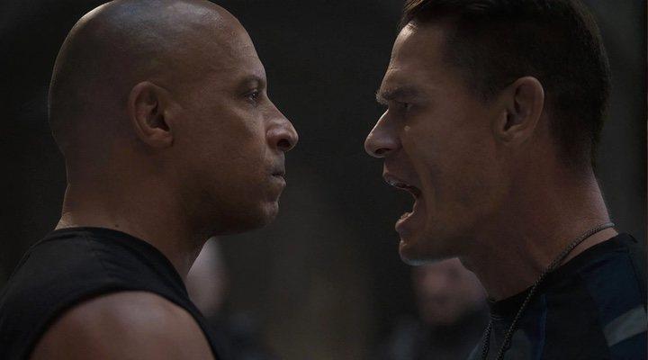 Vin Diesel </p><p>y John Cena en 'F9'