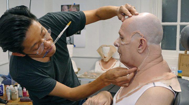 Gary Oldman maquillaje Churchill