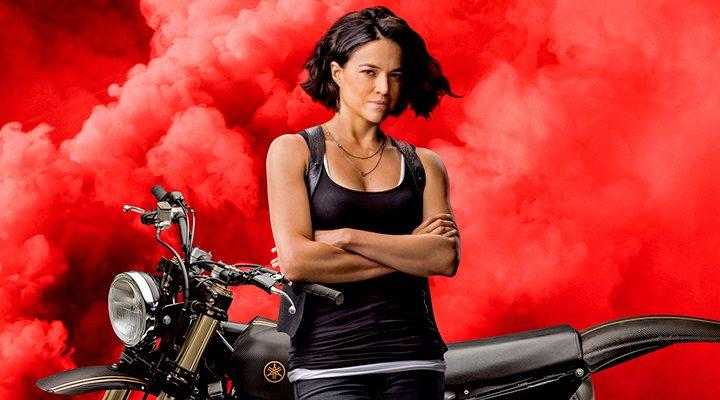 Michelle Rodriguez en 'Fast & Furious 9'