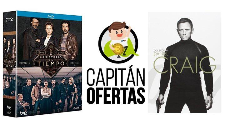 Las mejores ofertas en DVD y Blu-ray de la semana, de 'Spectre' a 'El Ministerio del Tiempo'
