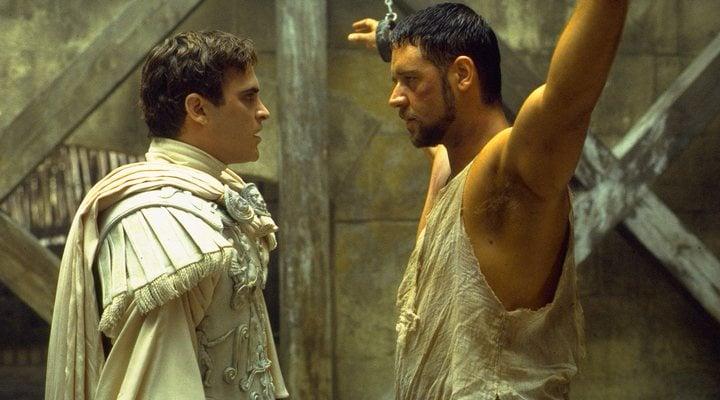 Joaquin Phoenix Russell Crowe 'Gladiator'