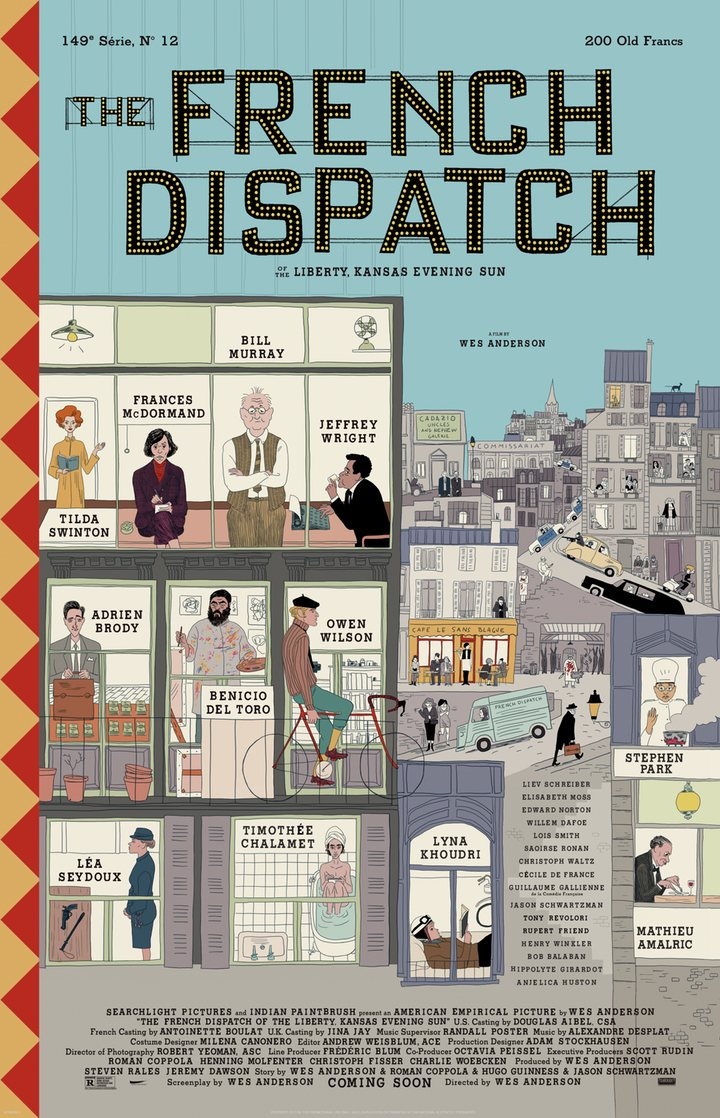 Póster 'The French Dispatch'