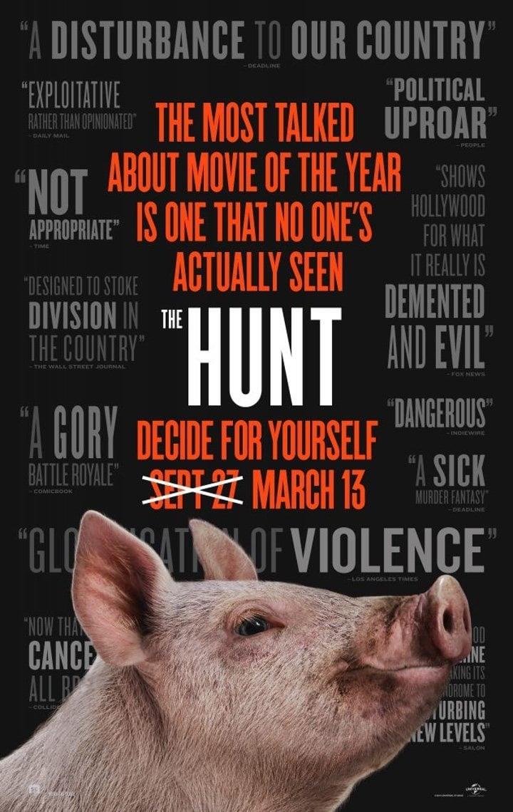 Póster 'The Hunt'