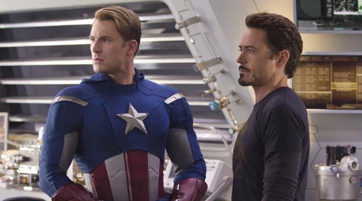 Relación Capitán América y Tony Stark