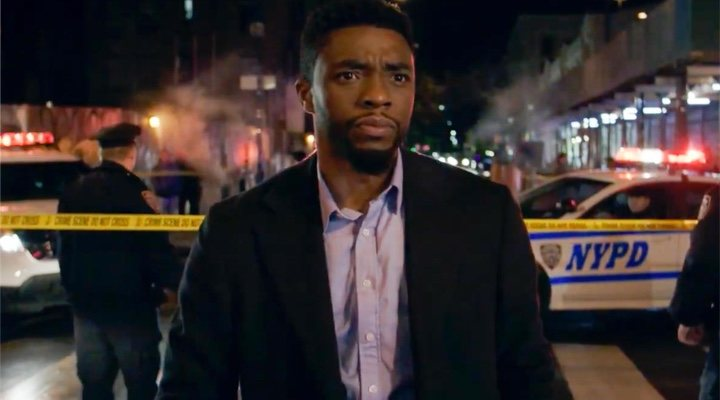 Chadwick Boseman en 'Manhatan sin salida'