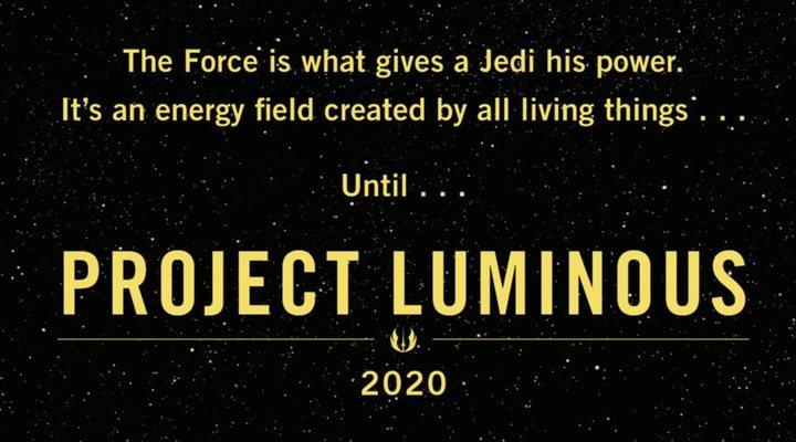 Banner de 'Project Luminous' lanzado en la Comic-Con de Nueva York