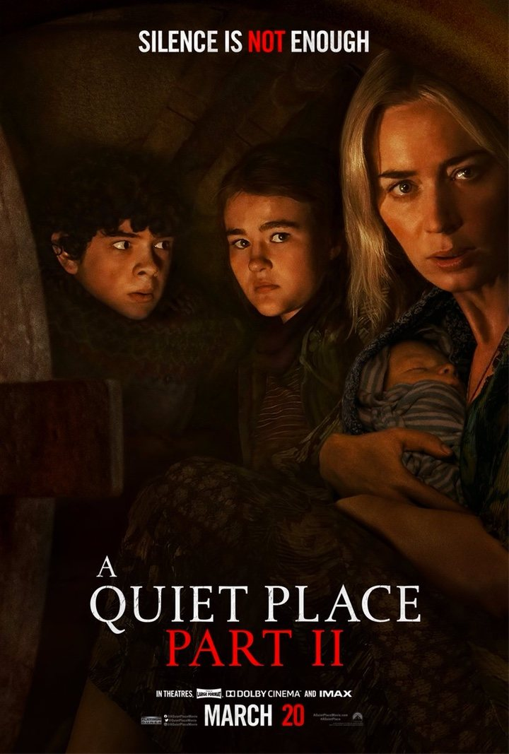 Póster 'Un lugar tranquilo 2'