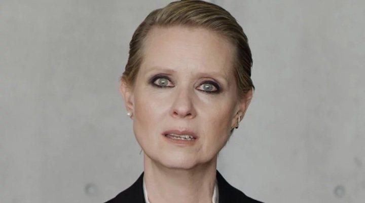 Cynthia Nixon Be a lady video viral
