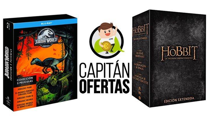 Las mejores ofertas en DVD y Blu-ray de la semana, de 'Parque Jurásico a 'El Hobbit'