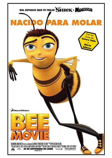 Cartel definitivo de 'Bee movie'