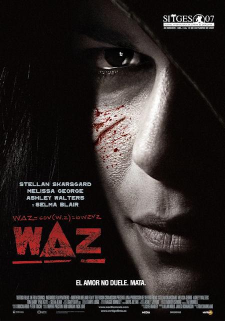 Cartel en castellano de 'Waz'