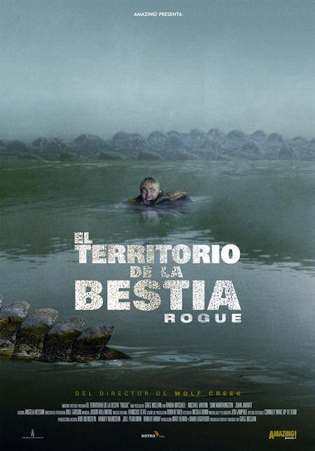 Cartel en castellano de 'El territorio de la bestia'