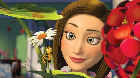 Unas cuantas imágenes de 'Bee movie'