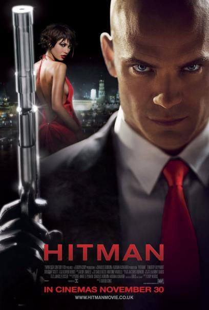 Nuevo cartel de 'Hitman'