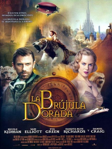 Póster definitivo de 'La Brújula dorada' para España