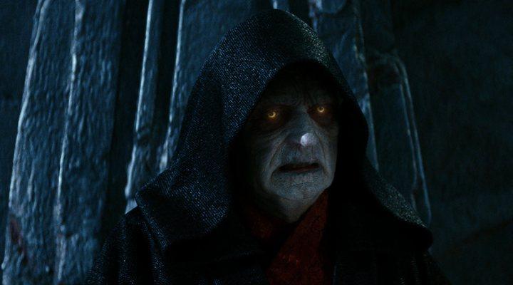 Palpatine en 'Star Wars: El Despertar de la Fuerza'