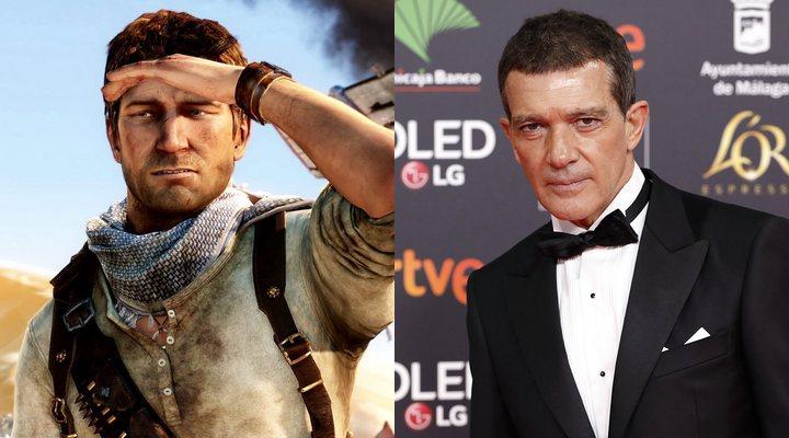 Antonio Banderas en 'Uncharted'