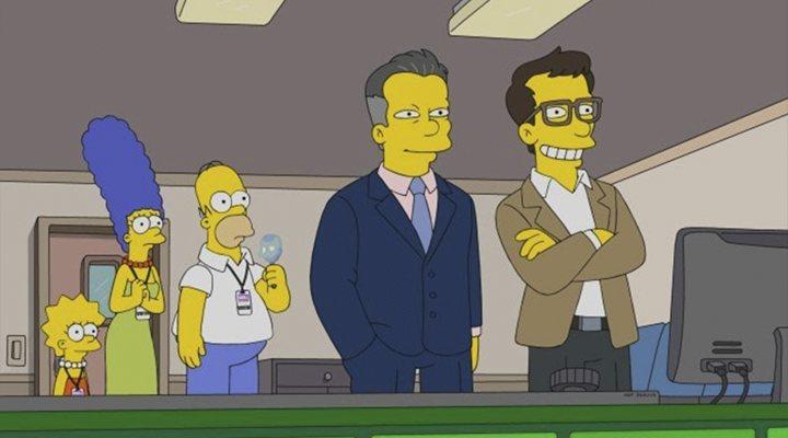 'Los Simpson' hermanos Russo