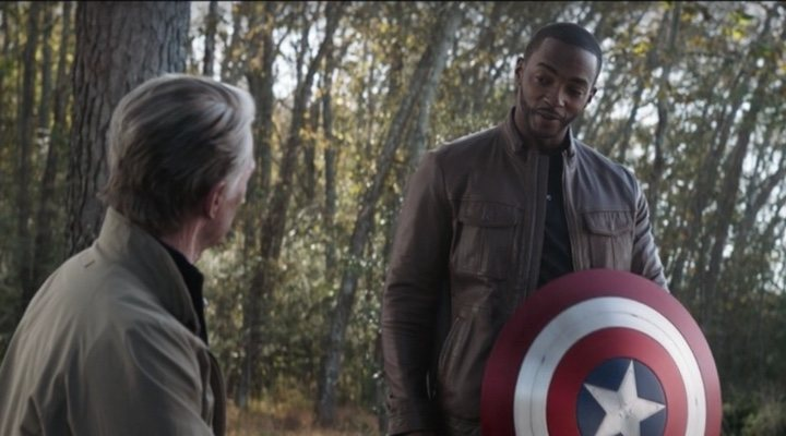 Anthony Mackie 'The Falcon and the Winter Soldier' 'Vengadores: endgame