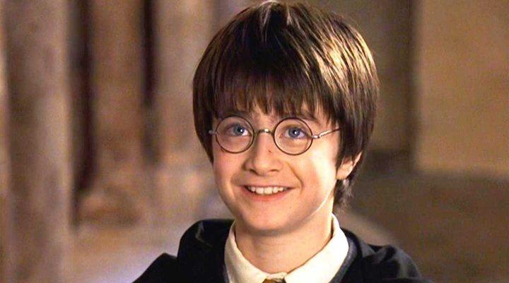 Daniel Radcliffe en 'Harry Potter y la piedra filosofal'
