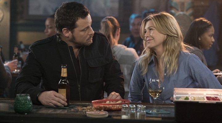 'Alex Karev y Meredith Grey'