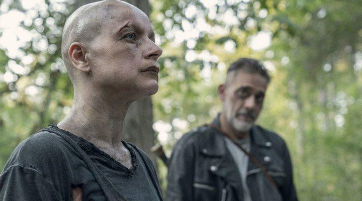 'Alpha y Negan en The Walking Dead'