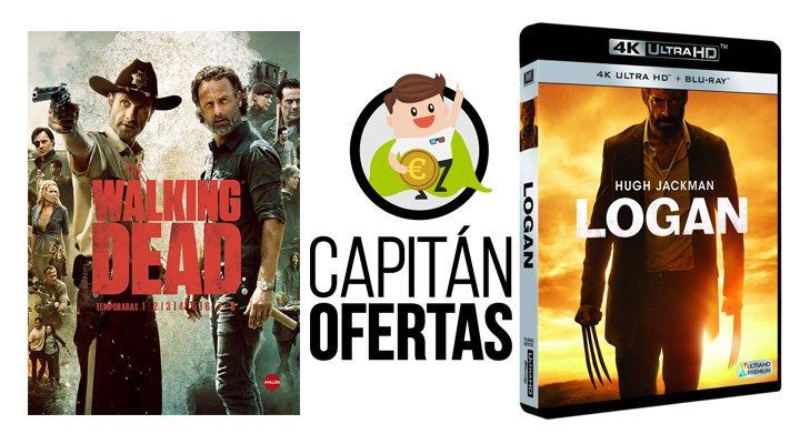 Las mejores ofertas en DVD y Blu-ray de la semana, de 'The Walking Dead' a 'Logan'