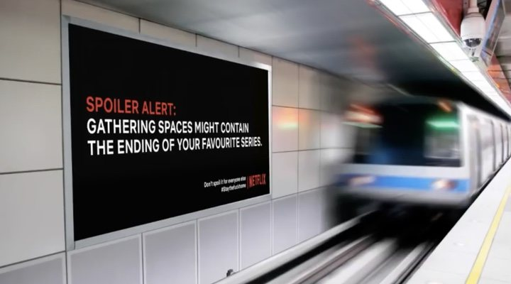 Campaña spoilers Netflix