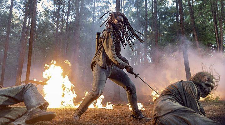 Danai Gurira en la décima temporada de 'The Walking Dead'