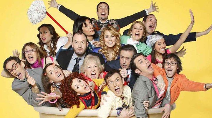 Todo el elenco de 'Camera Café'