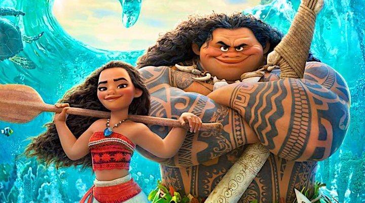 Imagen promocional de la película de Disney, 'Vaiana'