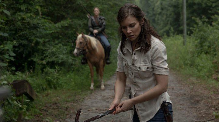 Maggie en 'The Walking Dead'